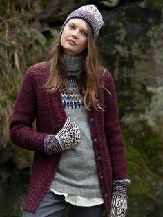 Nordic Yarns and Design since 1928 Knitting Patterns, Crochet Patterns, Needles Sizes, Sweater Cardigan, Knitwear, Knit Crochet, Wool, How To Wear, Knits