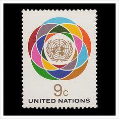 United Nations Postage Stamps – Part 1 / Aqua-Velvet — Designspiration