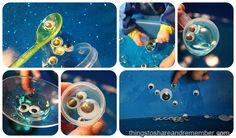 Spooky Googly Eye Glitter Water Play -