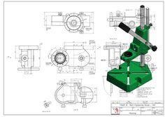 TGM Innovation: P ortofolio Autocad, Metal Drawing, Cad Drawing, Mechanical Engineering Design, Mechanical Design, Solidworks Tutorial, Innovation, Interesting Drawings, Autodesk Inventor