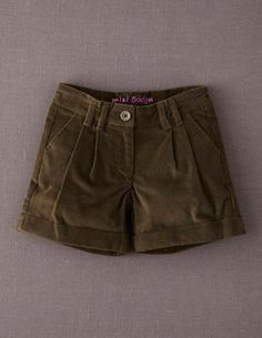 size 11 in brown grey or yellow I've spotted this @BodenClothing Washed Velvet Shorts Khaki