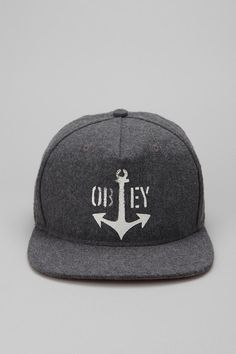OBEY Salty Dog Snapback Hat. Well I want this hat now thanks Pinterest