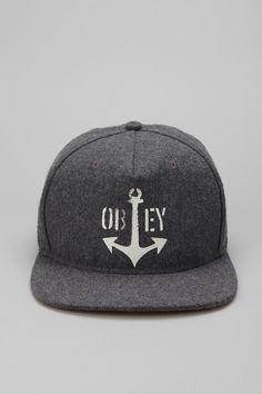 OBEY Salty Dog Snapback Hat 478da0c472a