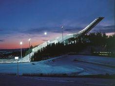 Holmenkollen National Ski Jump,  Oslo Norway