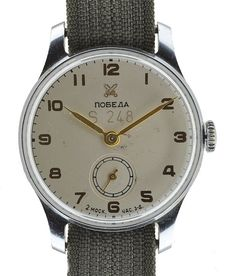 1950s Soviet made Czech service watch - I'm feelin this one...and it's in my price range
