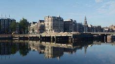 Amsterdam krijgt stadsstrand voor Centraal Station