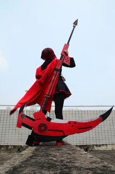Ruby Rose from RWBY |  Cosplayed by Saka  photographed by 盗夜 Source: WorldCosplay.net