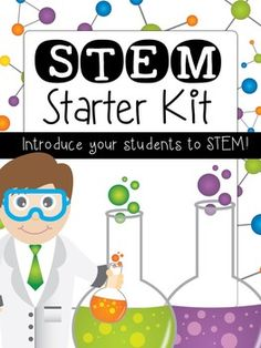 Are you interested in starting some STEM projects in your class, but you do not know where to begin? This STEM starter kit will help! Here's what's included:-A What is STEM? Worksheet for kids-A 1 page STEM graphic organizer-STEM Rules-STEM Quick Challenges {to introduce STEM projects to your students}-STEM Journal for Kids {To record the process}-STEM Posters for your classroomCheck out the preview for a good look at most everything that is included!
