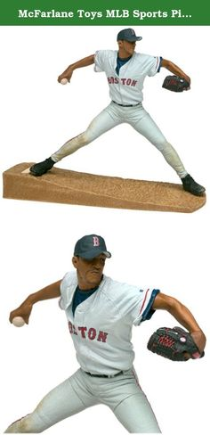 McFarlane Toys MLB Sports Picks Series 1 Action Figure Pedro Martinez (Boston Red Sox) White Jersey. Fans of Major League Baseball and McFarlane Toys will appreciate the detailed realism in this action figure of ace Boston Red Sox pitcher Pedro Martinez. Dressed in his road uniform, Martinez wears an intense look on his face as he prepares to uncork a fastball toward home plate. The finely crafted features include articulated arms and legs, realistic facial appearance, and authentic…