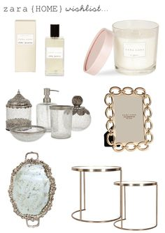 my zara home #wishlist