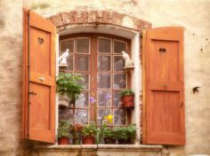 A Cottage Window in France | Content in a Cottage