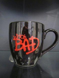 Michael Jackson Bad coffee cup mug - collectors memorabilia
