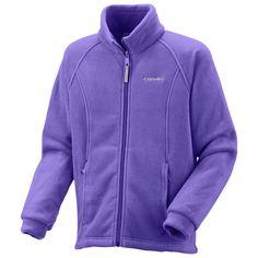 Columbia Sportswear Benton Springs Fleece Jacket (For Little Girls) in Purple Arrow Back To School 2017, High School, Columbia Sportswear, Columbia Jacket, School Stuff, Arrow, The North Face, Camping, Hoodies
