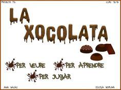 projecte interactiu Del Conte, Tictac, Chocolate, Digital, School, Projects, Blog, Print Calendar, Initials