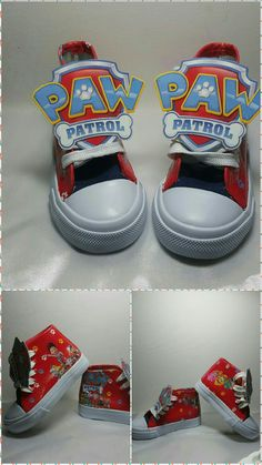 Limited Edition PAW PATROL Red Inspired Shoe (NON-CONVERSE)