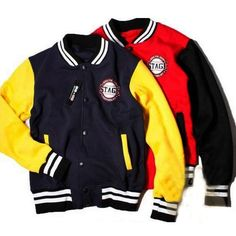 Stage Letterman Baseball Jackets For Men