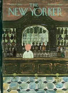 The New Yorker - Saturday, September 1965 - Issue # 2119 - Vol. 41 - N° 32 - Cover by : Laura Jean Allen The New Yorker - Saturday, September 1965 - Issue # 2119 - Vol. 41 - N° 32 - Cover by : Laura Jean Allen The New Yorker, New Yorker Covers, Vintage Posters, Vintage Art, Vintage Images, Capas New Yorker, Cover Art, Illustrations, Illustration Art
