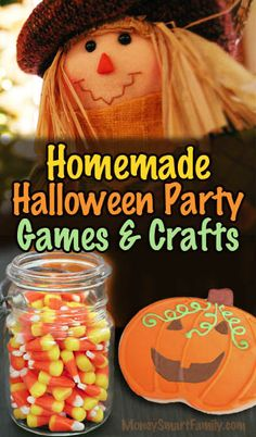 Homemade Halloween Games, Crafts & Food for a Harvest Festival Party Halloween Games For Kids, Halloween Party Costumes, Halloween Ideas, Cheap Halloween, Halloween Activities, Food Festival, Festival Party, Homemade Halloween, Pumpkin Faces