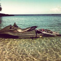 Tow in #activitykauai #kauai # jetski
