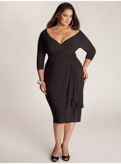 Modest Yet Elegant Plus Size Cocktail Dresses With Sleeves