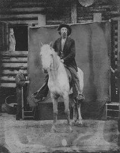 Lieut-Gen. A.P. [Ambrose Powell] Hill on his favourite steel-gray war horse, Champ.