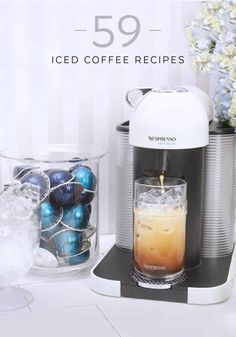 Browse Nespresso's collection of iced coffee recipes for an expertly crafted drink that's as cold as the winter weather outside. Enjoy the sweetness of a Tiramisu iced coffee or mix things up with a Milk and Spice iced coffee. No matter how you choose to enjoy your daily cup of coffee, there's a recipe here for you.