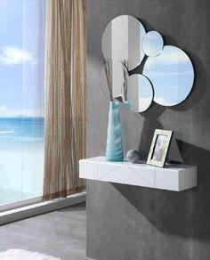 Espejos de cristal con luz LED TIKU. Diseño y calidad en espejos. www.decoracionbeltran.com