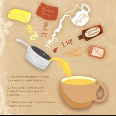 Butterbeer Latte recipe!  {Harry Potter Reference}