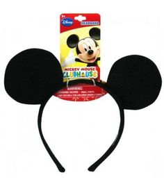 Mickey Ear Shaped Headband. Be Mickie for a day or two. Cute headbands for any occasion.