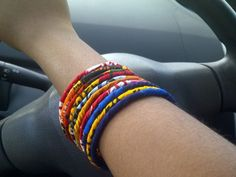 Lovely Ankara bangles