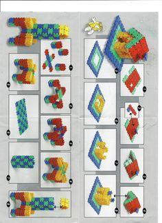 Pagina 1 van Clics Voorbeelden handleiding Kindergarten, Lego Duplo, Kids Playing, Kids Rugs, Toys, Holiday Decor, School, Maths, Stage