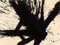 FRANZ KLINE Untitled (Composition)