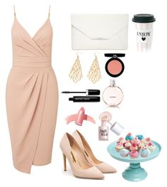 """""""Untitled #13"""" by udggv24 on Polyvore featuring Miss Selfridge, Rupert Sanderson, Style & Co., Elizabeth Arden, Chanel, Armani Beauty, Marc Jacobs and Benefit"""