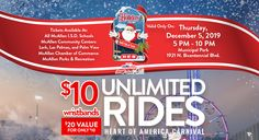 Residents can begin their 2019 holiday season fun by celebrating under and with the stars at Christmas in the Park, starting on Friday, December Rio Grande Valley, Admission Ticket, Winter Festival, Veterans Memorial, Chamber Of Commerce, Parks And Recreation, Cool Photos, December, Texas