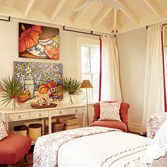 2003 | St. Simon's Island, GA | Guest Bedroom | Designer: Linda Woodrum