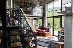 Private House O | Photo © Francesca Pagliai [Living. Staircase - Salotto. Scale]
