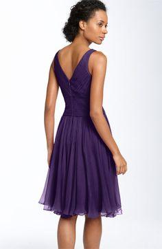 JS Collections Sleeveless Chiffon Dress (Petite)   Nordstrom
