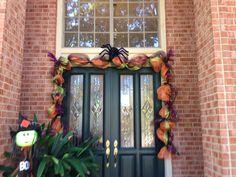 Halloween deco mesh garland