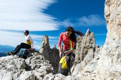 Wandern in den Dolomiten/Escursioni nelle Dolomiti
