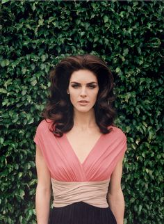 Hilary Rhoda shot by Venetia Scott for Paule Ka Spring 2013 – Jelanie
