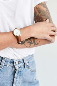 Classic Leather Watch - Urban Outfitters