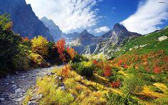 Tatra Mountains of Poland, in Autumn.