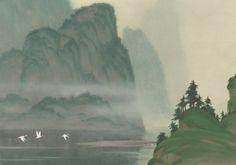 Concept art for Disney's Mulan