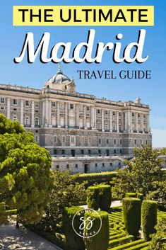 Planning to travel to Madrid Spain? Madrid is one of the top destinations . Planning to travel to Madrid Spain? Madrid is one of the top destinations to visit in Europe. Europe Travel Tips, Spain Travel, Travel Guides, Travel Advice, European Destination, European Travel, Malta, Monaco, Portugal