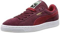 Puma Suede Classic Wn's, Damen Sneakers, Rot (zinfandel-jester red 18), 36 EU (3.5 Damen UK) - http://on-line-kaufen.de/puma/36-eu-3-5-damen-uk-puma-suede-classic-damen-sneakers-3