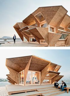 Endesa Solar Pavilion, Barcelona, Spain. By IAAC