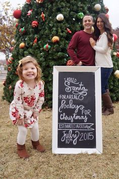 65 best christmas baby announcements images on pinterest pregnancy