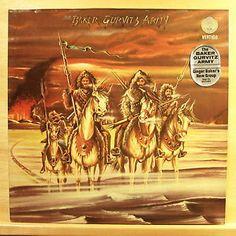 BAKER GURVITZ ARMY - Same - mint minus minus - Vinyl LP Ginger Baker Cream - FOC