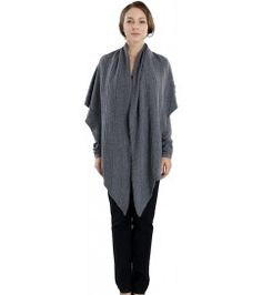 Asymmetrical Draped Cardigan with Coordinating Scarf Drape Cardigan, Cashmere Cardigan, London College Of Fashion, Knitwear, Tunic Tops, Collection, Dresses, Design, Women