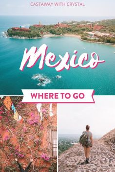 Want to know where to go in Mexico? Everything you need to know about the best Mexico destinations including Cabo San Lucas, Oaxaca, Tulum, Cancun, Playa del Carmen and other Mexico bucket lists in the Yucatan in Mexico. This wanderlust inducing list of places to go in Mexico also includes tips on how to find the beach swim vacation spots, secluded paradise vacations and beautiful Mexico culture. You don't have to research Mexico places to visit any more - this article is all you need! #Mexico Mexico Places To Visit, Visit Mexico, Cool Places To Visit, Places To Go, Tulum, Cancun, Mexico Vacation, Mexico Travel, Vacation Spots